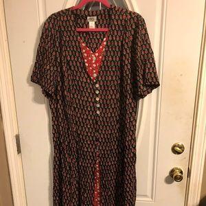 DRESS BY J B S SIZE 18W